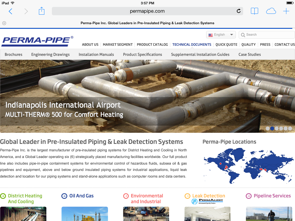 Perma-Pipe Website